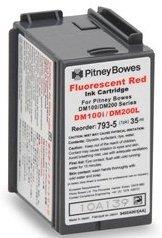Compatible Postage Meter Ink Cartridge for Pitney Bowes 793-5 P700 DM100 DM100i DM200L Postage Meters