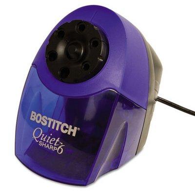 Stanley Bostich Quiet Sharp 6 Commercial Desktop Electric Pencil Sharpener Blue