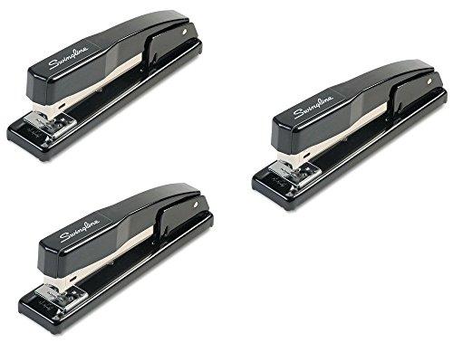 Swingline Desk Stapler Commercial 20 Sheet Capacity Black - 44401 - 3 Pack