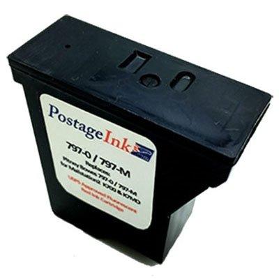 Pitney Bowes 797-0 Red Ink Cartridge for K700 Mailstation and Mailstation 2 Postage Meters