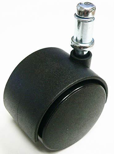 Oajen 2 Chair Caster Wheel 38 x 1 Grip Ring stem Pack of 5