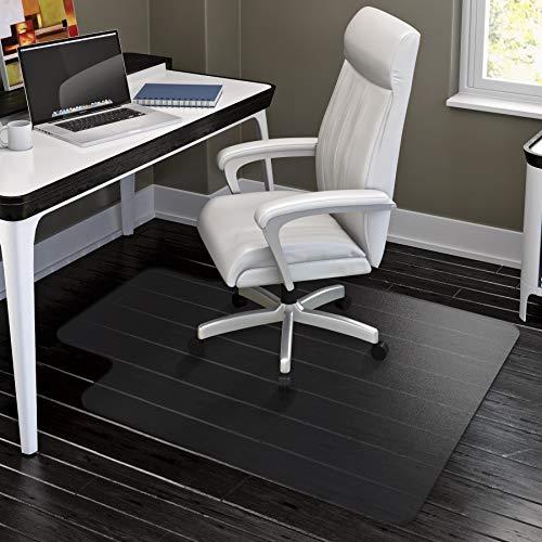 HYNAWIN Office Chair Mat for Hard Floors - 36×47Heavy Duty Clear WoodTile Floor Protector PVC Transparent