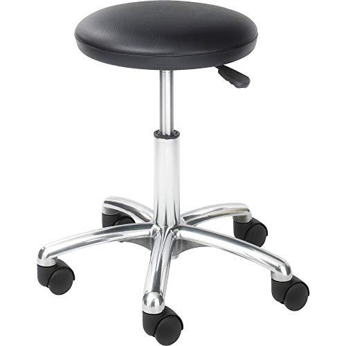 OKSLO Economy height adjustable lab stool black