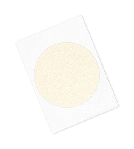 3M 2380 Performance Masking Tape HD2380-6125-250 6125 Circles Crepe Paper Tan Pack of 100