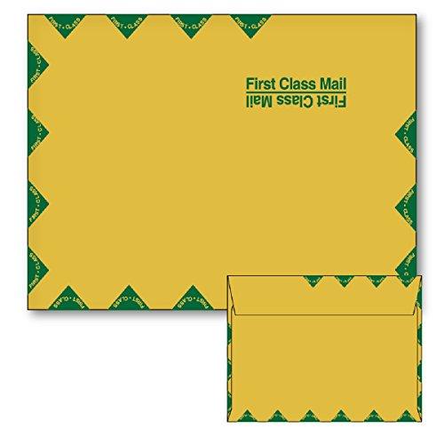 9 X 12 Booklet Envelope 28LBS Brown Kraft First Class Mailer Bulk of 500