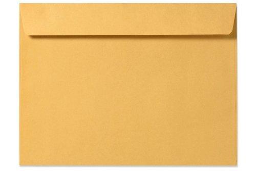 9 X 12 Booklet Envelopes - 28lb Brown Kraft 50 Qty