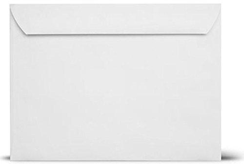 10x13 Booklet Envelopes-White Booklet Envelopes-Open Side Envelopes-28Lb 500Box White