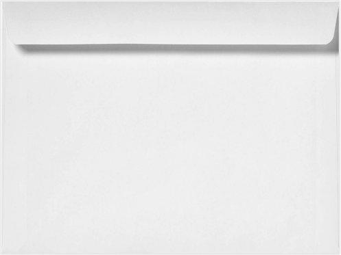 Minas Envelope 10 x 13 White Booklet Envelope 28lb 100 Count- Item MBK1013NW