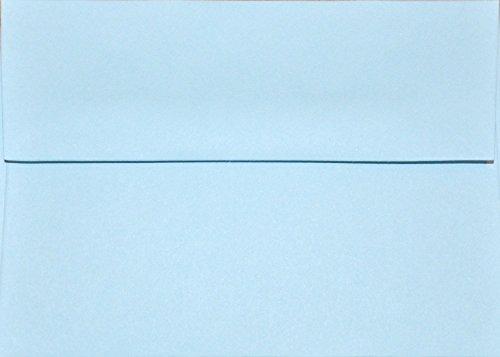 A1 Envelopes - Light Blue 70lb - 3 58 x 5 18 for response cards pack of 100