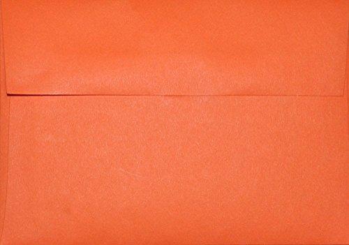 A1 Envelopes - Orange - 3 58 x 5 18 for response cards pack of 50
