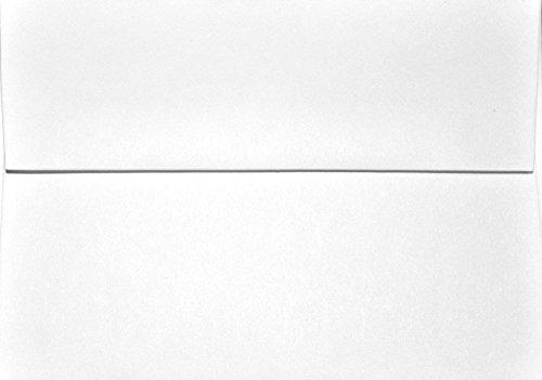 A1 Envelopes - White 80lb - 3 58 x 5 18 for response cards pack of 25