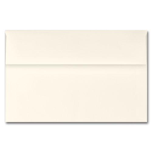 Fine Impressions Ecru Envelopes - A9 5 34 x 8 34 70 lb Text Vellum - 250 per Box