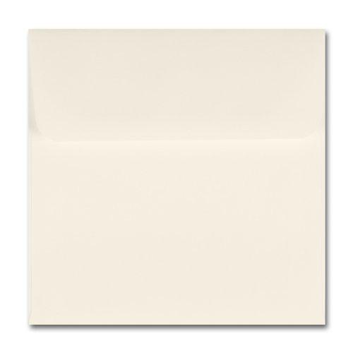 Fine Impressions Ecru Envelopes - Marquee Outer 6 x 6 70 lb Text Vellum - 50 per Box