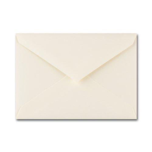 Fine Impressions Ecru Envelopes - No 4 Baronial 3 58 x 5 18 70 lb Text Vellum - 50 per Box