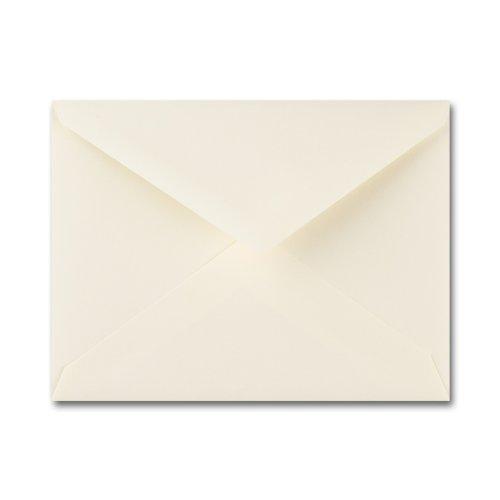 Fine Impressions Ecru Envelopes - No 5 12 Baronial 4 38 x 5 34 70 lb Text Vellum - 250 per Box