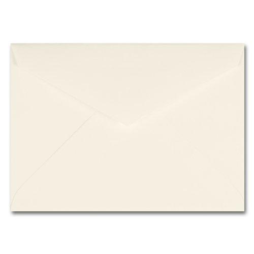 Fine Impressions Ecru Envelopes - Tiffany Inner Non Gummed 5 34 x 8 70 lb Text Vellum - 50 per Box