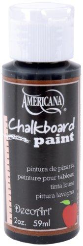 DecoArt Americana Chalkboard Paint 2-Ounce Black Slate