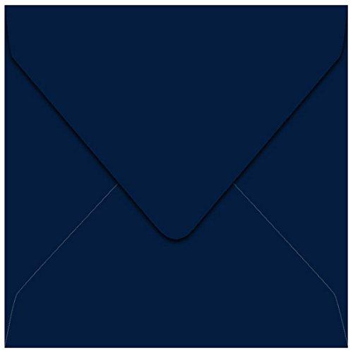 6 12 x 6 12 Midnight Blue Euro Flap Envelopes Gmund Colors Matt 68lb 25 pack