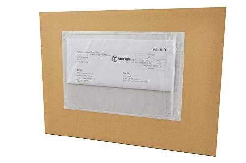 Re-Closable Packing List Enclosed Envelope Plain Face Back Load 9 x 12 500 Pieces