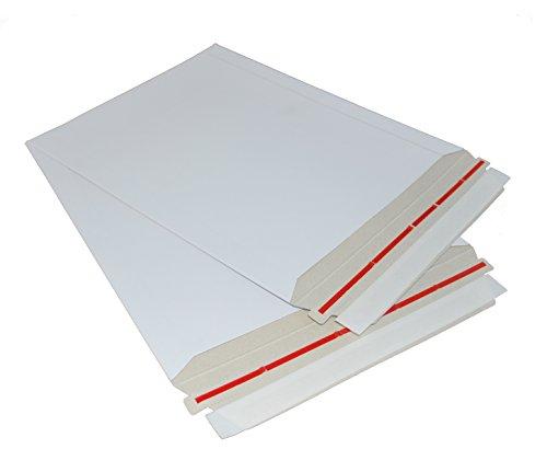 50 13x18 VALUEMAILERS Rigid Photo Flat MAILERS ENVELOPES