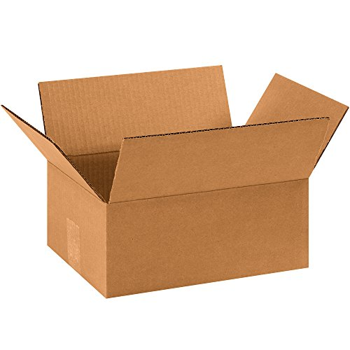 Aviditi 1184R Corrugated Box 11 Length x 8 Width x 4 Height Kraft Bundle of 25