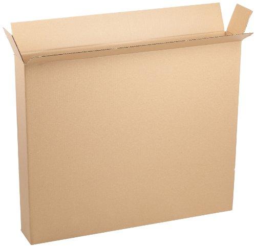 Aviditi 36530FOL Side Loading Box 36 Length x 5 Width x 30 Height Kraft Bundle of 20