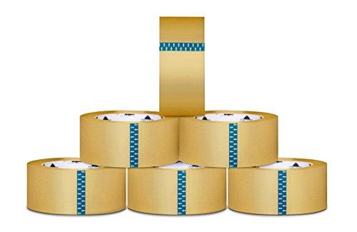 Heavy Duty Acrylic Packing Tape - Clear 16 Mil 3 in x 110 yd - 1080 Rolls
