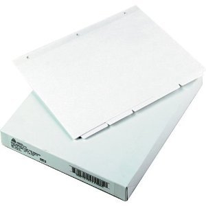 Avery Plain-Tab Dividers White 5-Tab 36-Set AVE 11506