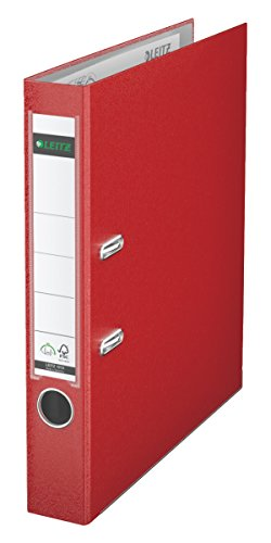 Leitz 2-Ring 2-Inch Premium A4 Sized European Binders Red