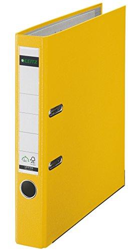 Leitz 2-Ring 2-Inch Premium A4 Sized European Binders Yellow
