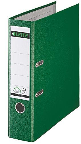 Leitz 2-Ring 3-Inch Premium A4 Sized European Binders Green