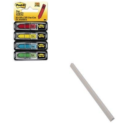 KITCLI34227MMM684SH - Value Kit - C-line Slide N Grip Binding Bars CLI34227 and Post-it Arrow Message 12ampquot Flags MMM684SH