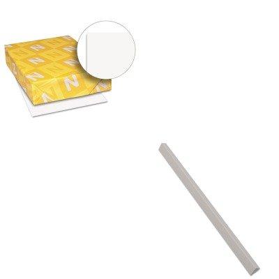 KITCLI34227WAU40411 - Value Kit - C-line Slide N Grip Binding Bars CLI34227 and Neenah Paper Exact Index Card Stock WAU40411
