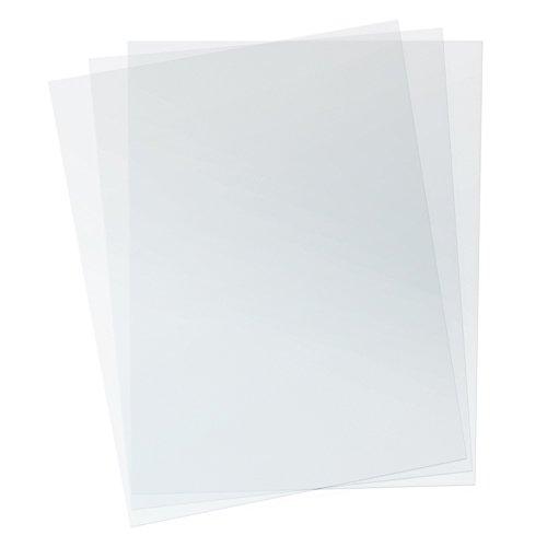 7 Mil 8-34 x 11-14 PVC Clear Binding Covers Qty 100