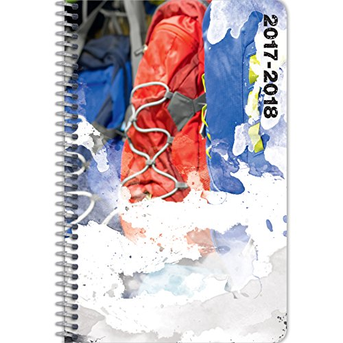 Student Planner for the 2017 - 2018 School Year for Middle School  High School Kids - By School Datebooks