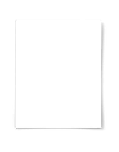 DigiOrange Premium Full Sheet Labels 100 White Laser Inkjet Labels 100 Labels