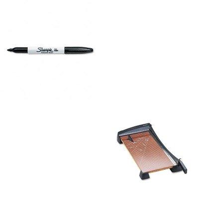 KITEPI26364SAN30001 - Value Kit - X-acto Heavy-Duty Guillotine Paper Trimmer EPI26364 and Sharpie Permanent Marker SAN30001