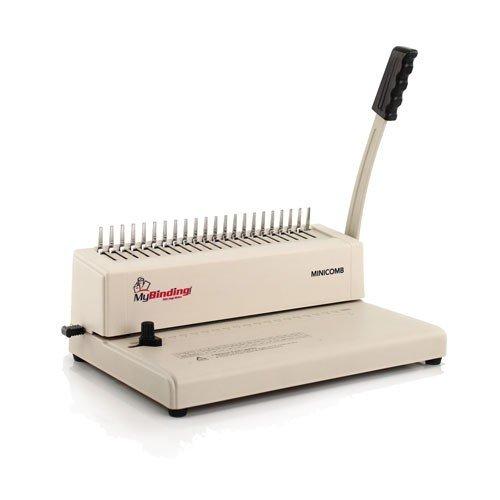 MINICOMB Manual Plastic Comb Binding Machine MyBinding MINICOMB