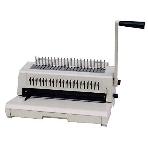 Tamerica 213PB Comb Binding Machine wWire Closer 3-Hole Punch