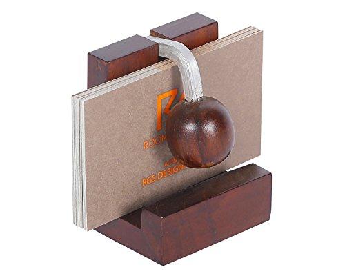 Rooms Gravity Business Card Holder- Visiting card Holder -Desk organiser