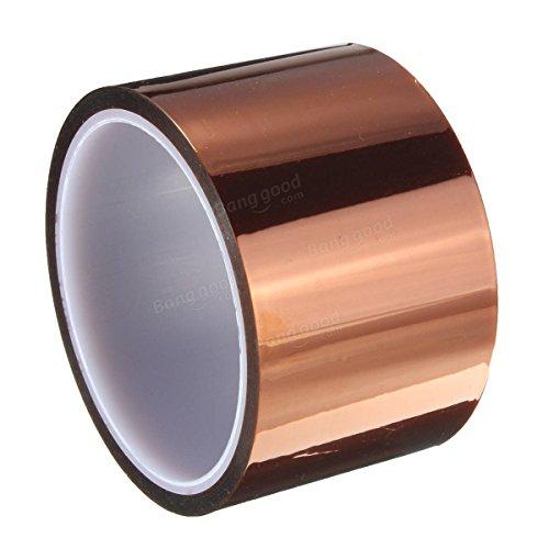 MITUHAKI 30m Gold Tape High Temperature Heat Resistant Polyimide - 1 x Heat Resistant Tape - Tapes Adhesives Sealants Adhesive Tapes