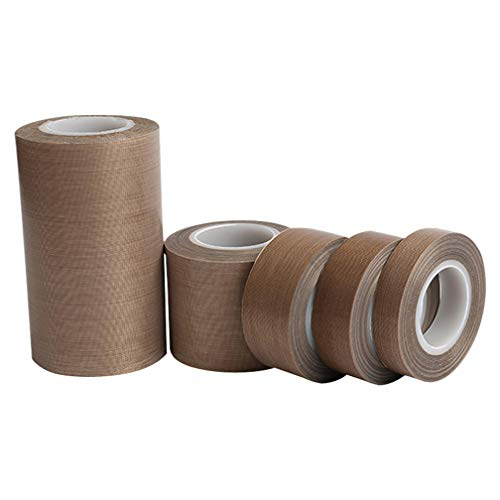 YUYUGO 1PC Teflon TapePTFE Tape for Vacuum Sealer Machine High Temperature Heat Resistant Tape Polyimide Film Adhesive Tape