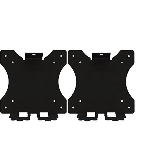 WALI WL- VHP001-2 VESA Mount Adapter Bracket for HP Pavilion Monitors 27xw 25xw 24xw 23xw 22xw 22cwa 27cw 25cw 24cw 23cw and 22cw 2 Pack Black