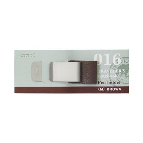 Midori Travelers notebook Pen holder Brown 016