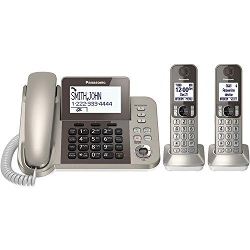 Panasonic KX-TGF352N Corded  Cordless 2 Handset Landline Telephone