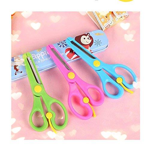 THD 3pc Set Preschool Training Scissors Assorted Colors