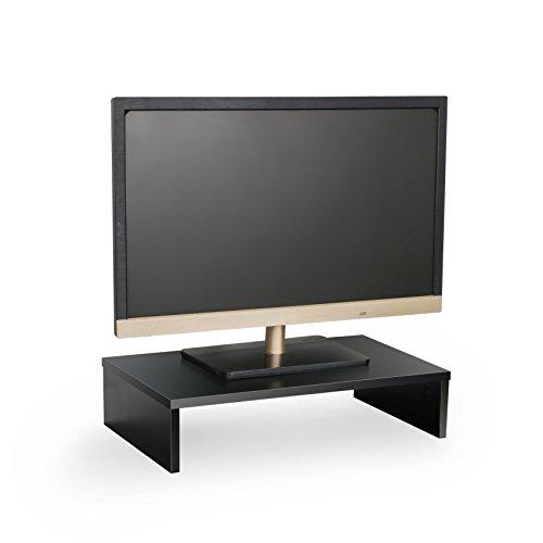 SevenFanS Full Black monitorscreen stand PC monitorLaptop riser