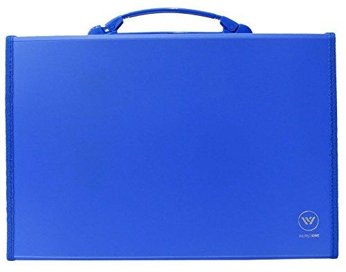 13 Pocket Expanding File Folder With Handle Paper Foolscap Folder Document Wallet Folder Pack of 3