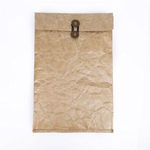 W-touch Kraft Paper Bags Case A4 File Folder Pocket Document Wallet Paper Files Record Bag Case Big Size