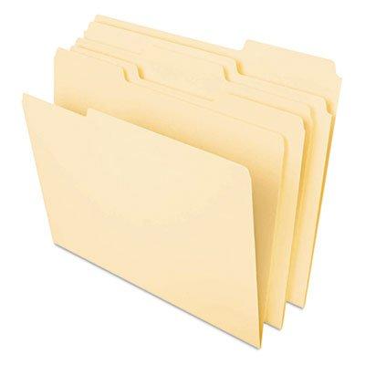 Heavyweight File Folders 13 Cut One-Ply Top Tab Legal Manila 50Pack Sold as 50 Each